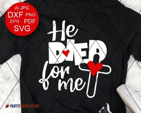 He died for me Party season store 1