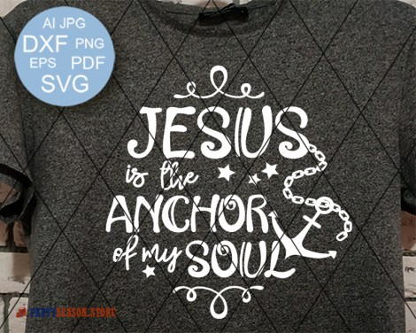 Jesus is the anchor of my soul 1