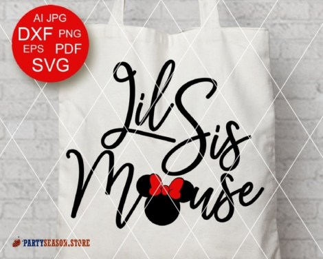 PartySeason Store lil sis mouses 1