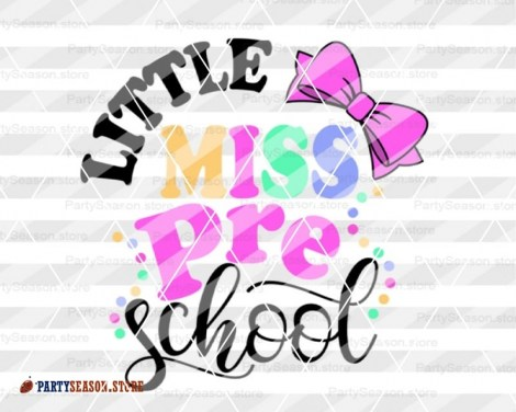 little miss preschool Party Season store 2