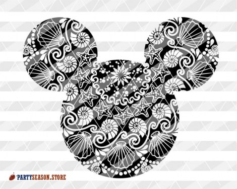 Mandala Mickey sign Party Season store 4