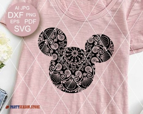 Mandala Mickey sign Party Season store 2