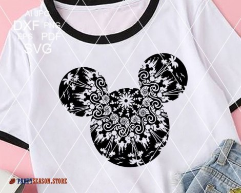 Mandala Mickey Mouse signs Party Season 2