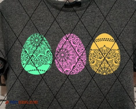 Zentangle eggs Party season store 1