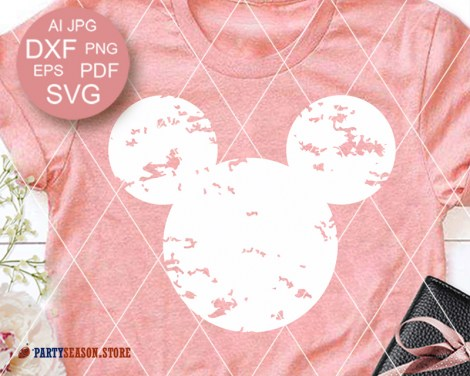 Party Season Store Disney Mickey grunge 1