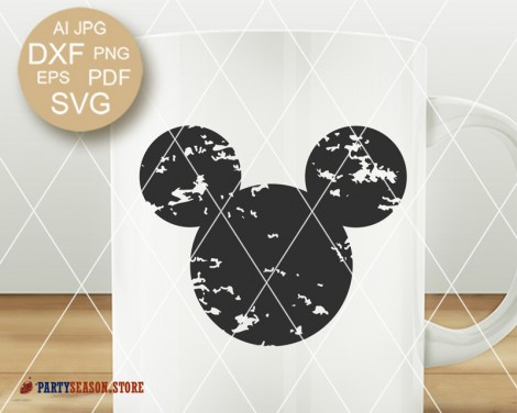Party Season Store Disney Mickey grunge 2