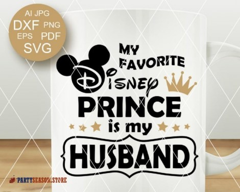 PartySeason Store Husband SVG 1