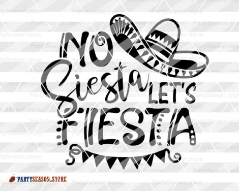 No siesta lets fiesta party season store 3