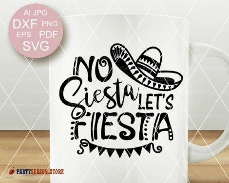 No siesta lets fiesta party season store 2