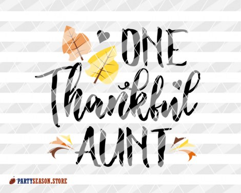One thankful aunt Party season store 2
