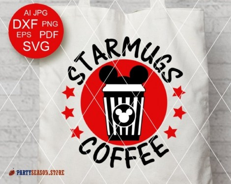 party season store Starmugs Coffee Miskey RED 1