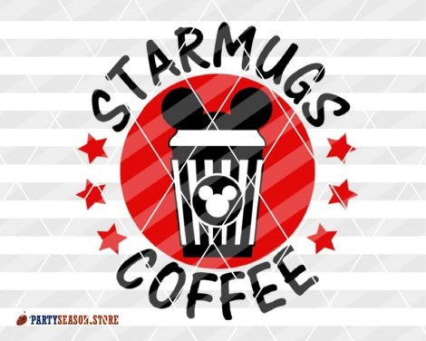 party season store Starmugs Coffee Miskey RED 2