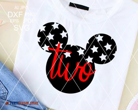 Party Season Store Two ears old Mickey 1