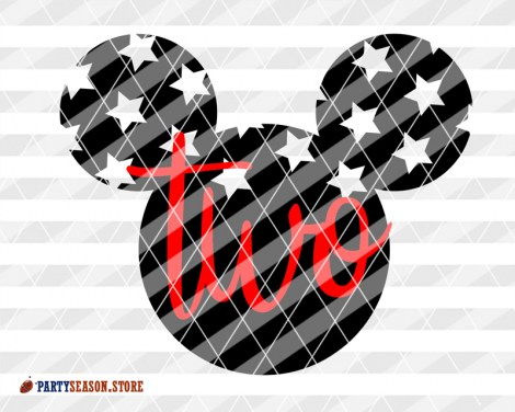 Party Season Store Two ears old Mickey 2