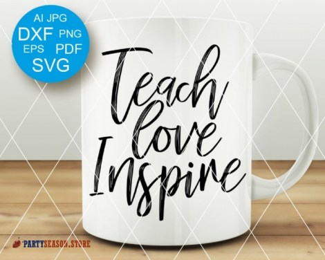 Teach love Party Season store