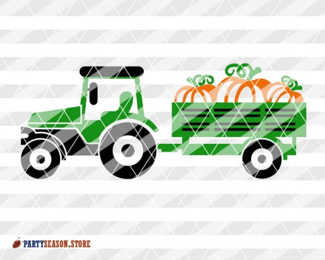 Tractor Pumpkin Party season store 2