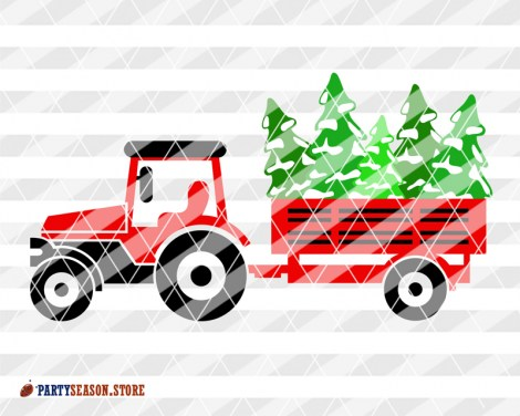 Tractor Trees Party Season store 2