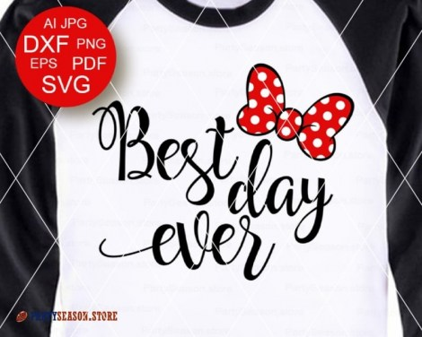 PartySeason Store best day ever Bow 1