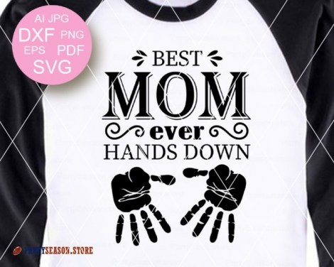 Best Mom Ever Hands party season store 1