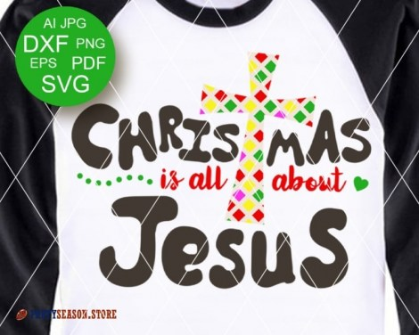 Christmas is all About Jesus Party Season