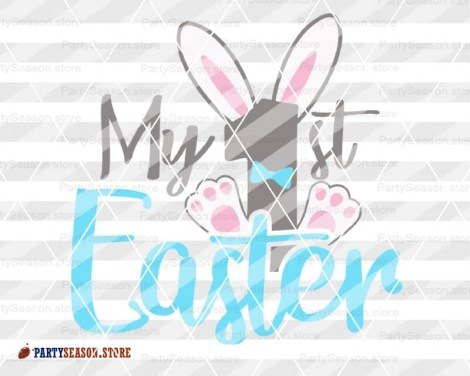 My 1st easter Boy Party season store 1