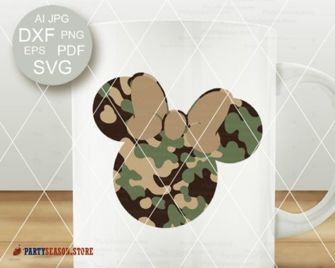 party season store Camoflauge Mickey 2
