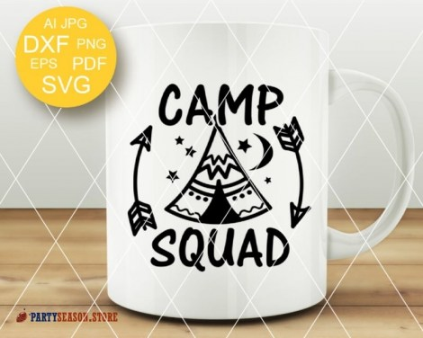 camp squad Party season 2