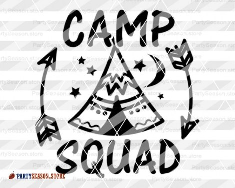 camp squad Party season 4