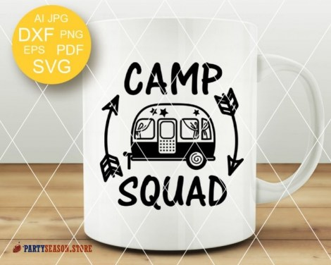 camp squad trailer Party season 3