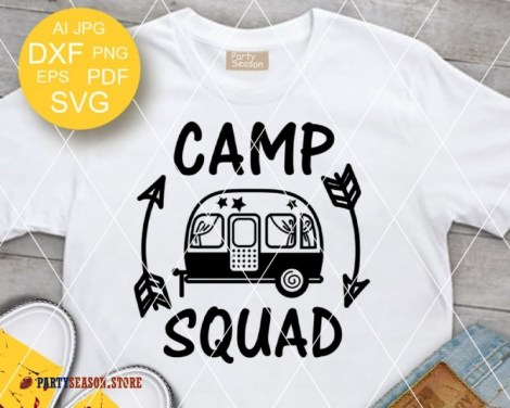 camp squad trailer Party season 2