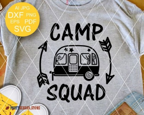 camp squad trailer Party season 1