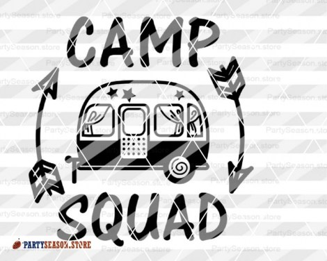 camp squad trailer Party season 4