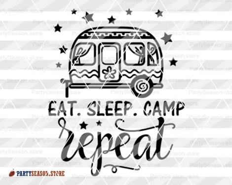 eat sleep camp repeat trailer Party season 3