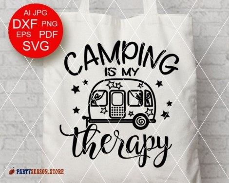 camping is my therapy Party season 2