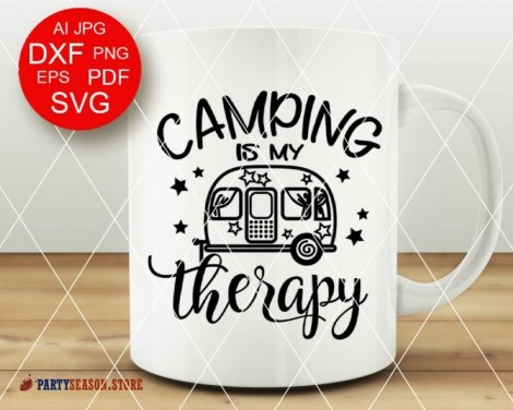 camping is my therapy Party season 3