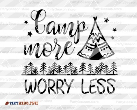 camp more worry less Party season 3