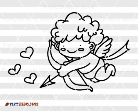 CUPID SVG File Heart Party season 2