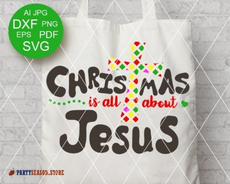 Christmas is all About Jesus Party Season 2