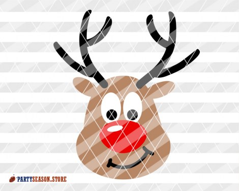 Deer antlers svg Party Season store 2