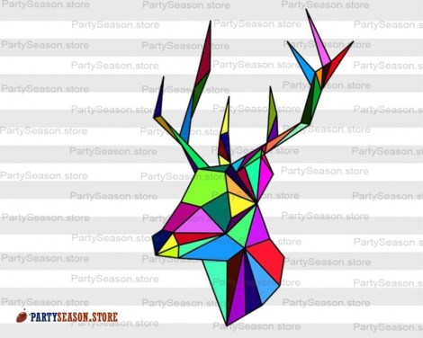 Deer Svg Party Season store 1