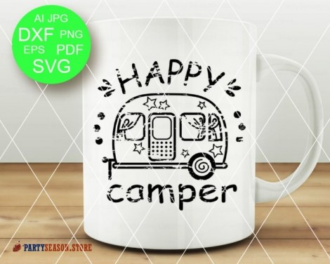 happy camper grunge Party season 3