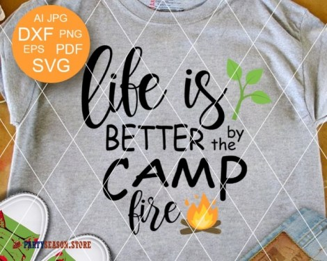 life is better by the camp fire Party season 1