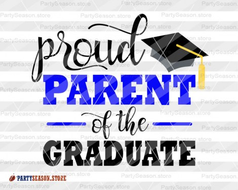 Proud parent of the graduate Party Season store 3