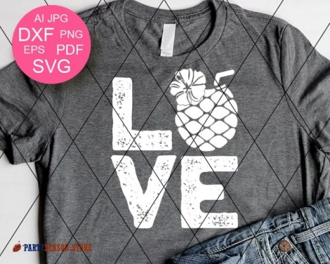Love SVG Pineapple Party season 2