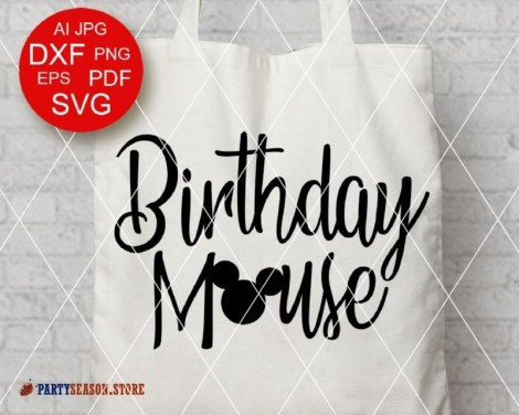 PartySeason Store Birthday mouse 3