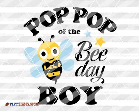 PopPop of the bee day boy Party season 2