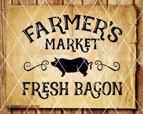 Farmers Market Fresh bacon Party season 1