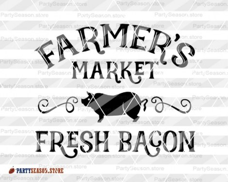 Farmers Market Fresh bacon Party season 3