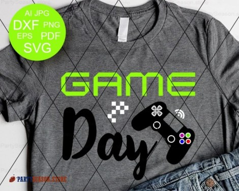 game day svg Party season store 1