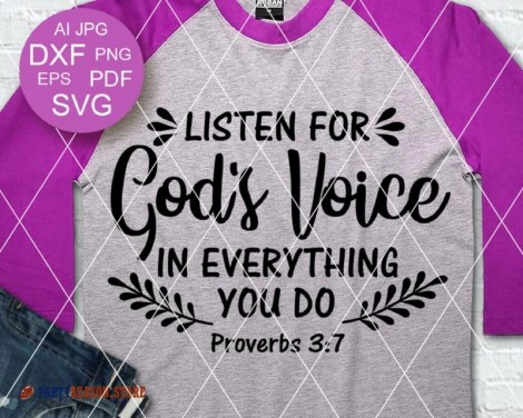Listen for gods voice in everything you do party season 1